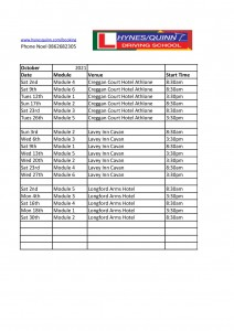 Driver CPC dates Oct 21 by venue-page-001